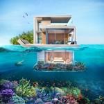 Phòng tắm lý tưởng chỉ cách lòng đại dương 1 tấm kính